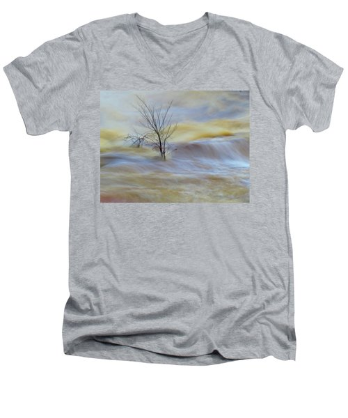 Raging River Men's V-Neck T-Shirt