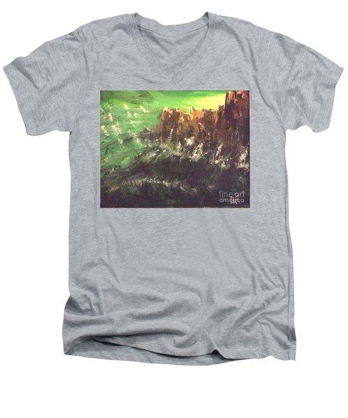 Raging Waters Men's V-Neck T-Shirt