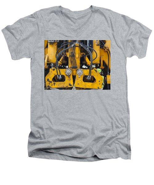 Railroad Equipment Men's V-Neck T-Shirt