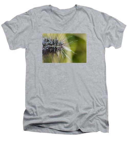 Rain Drops - 9760 Men's V-Neck T-Shirt by G L Sarti