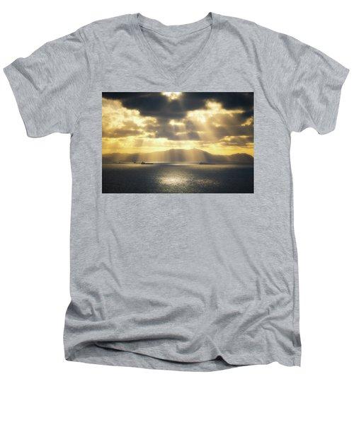 Rain Of Light Men's V-Neck T-Shirt