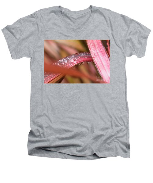 Men's V-Neck T-Shirt featuring the photograph Rain Shower by Trevor Chriss