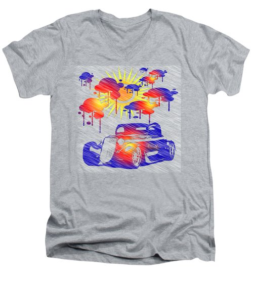 Rain Showers Men's V-Neck T-Shirt