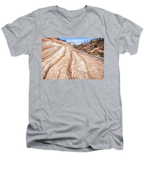 Rain Worn Men's V-Neck T-Shirt