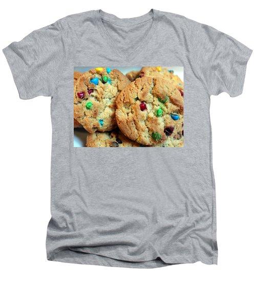 Rainbow Cookies Men's V-Neck T-Shirt