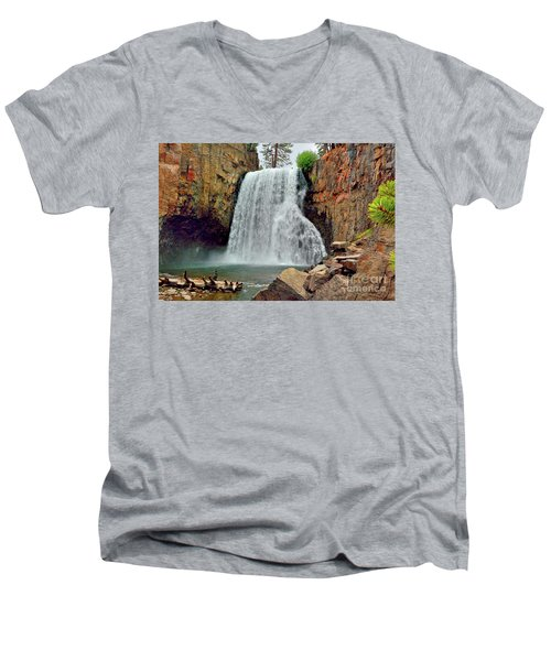 Rainbow Falls 10 Men's V-Neck T-Shirt