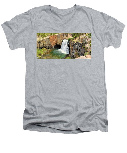 Rainbow Falls 3 Men's V-Neck T-Shirt