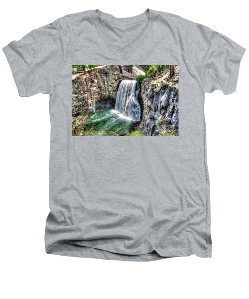 Rainbow Falls 5 Men's V-Neck T-Shirt