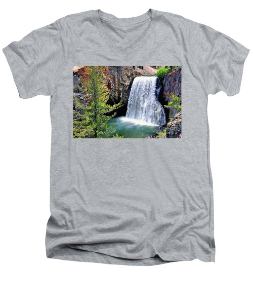 Rainbow Falls 9 Men's V-Neck T-Shirt