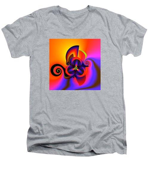Rainbow Infusion Men's V-Neck T-Shirt