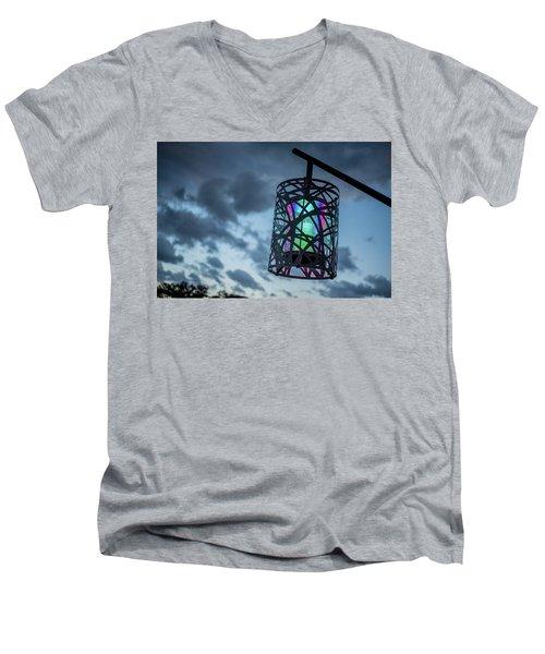 Rainbow Light Men's V-Neck T-Shirt