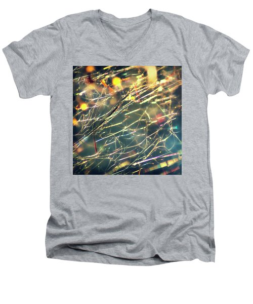 Rainbow Network Men's V-Neck T-Shirt