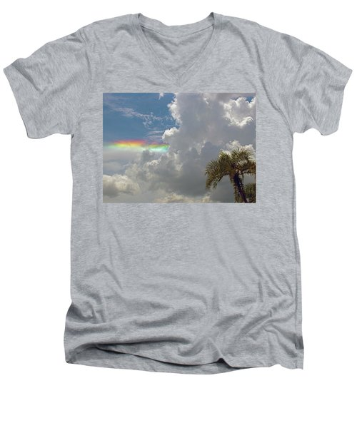 Rainbow To Nowhere Men's V-Neck T-Shirt