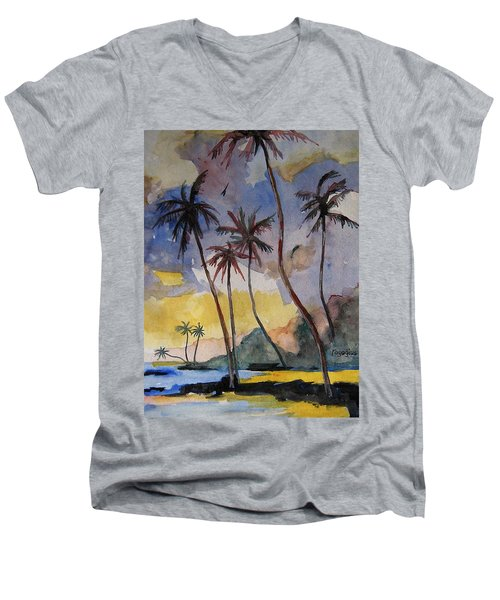 Rainbows Men's V-Neck T-Shirt