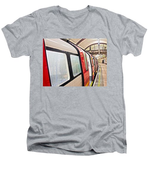 Rainy London Day Men's V-Neck T-Shirt