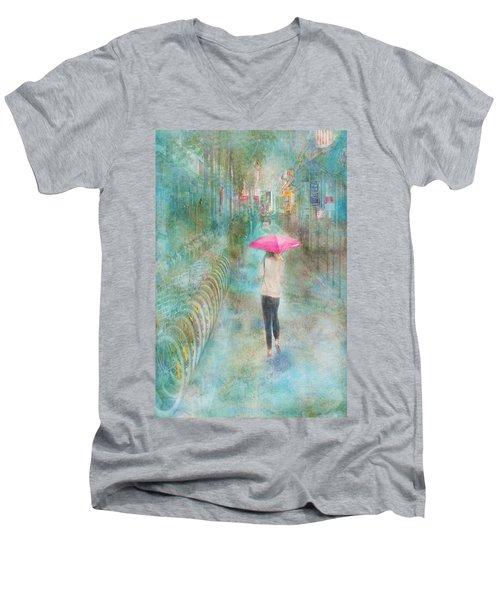 Rainy In Paris 3 Men's V-Neck T-Shirt