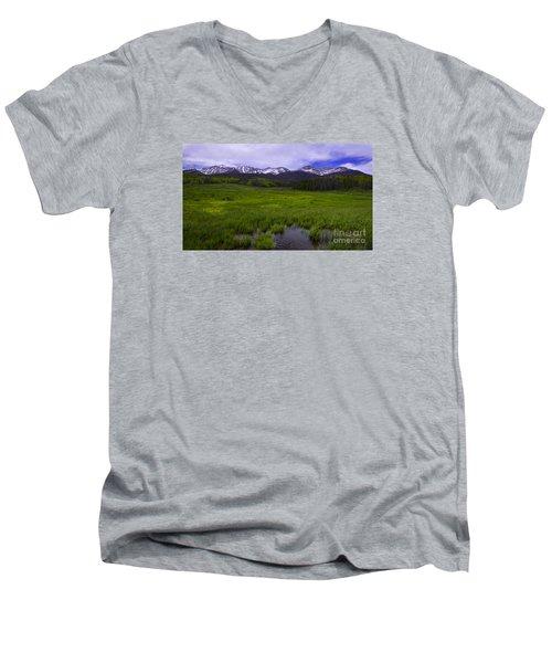 Rainy Season Men's V-Neck T-Shirt