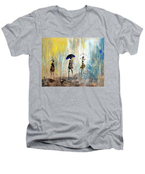 Rainydaywalk Men's V-Neck T-Shirt