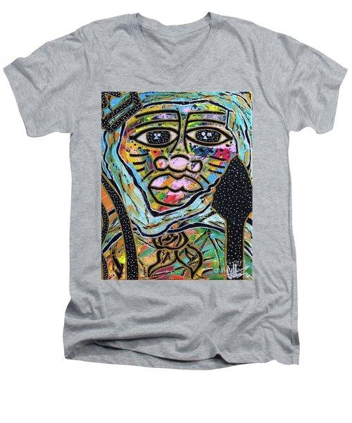 Raise Moor Kings Men's V-Neck T-Shirt