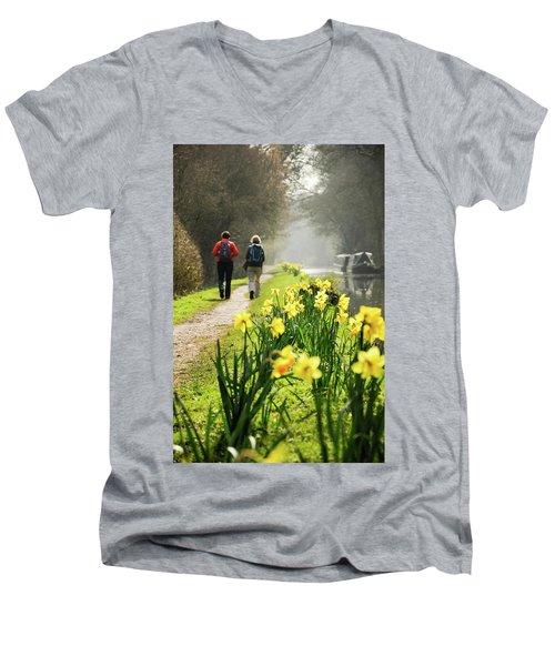 Rambling On Men's V-Neck T-Shirt