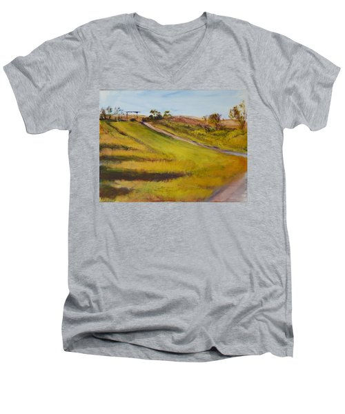 Ranch Entrance Men's V-Neck T-Shirt