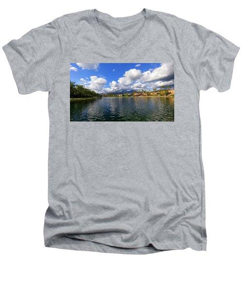 Rancho Santa Margarita Lake Men's V-Neck T-Shirt