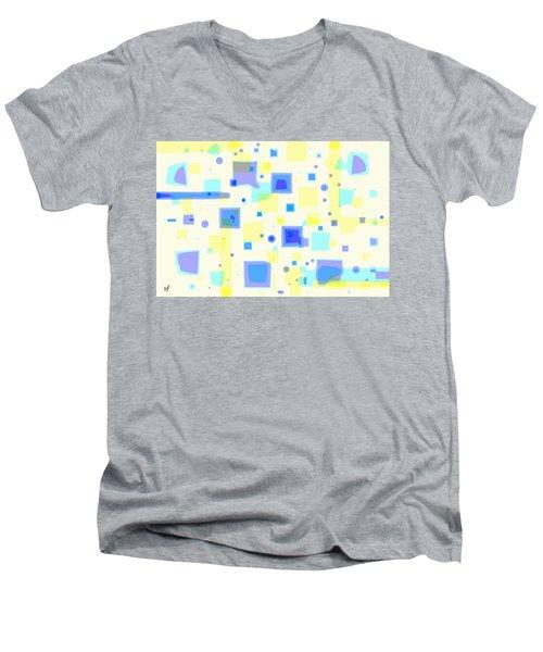 Random Blips Men's V-Neck T-Shirt