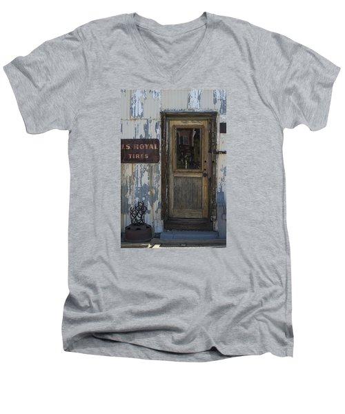 Randsburg Door No. 2 Men's V-Neck T-Shirt