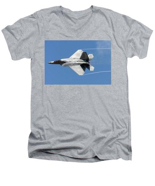 Raptor Dedication Pass Men's V-Neck T-Shirt