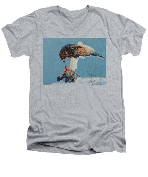 Raptor Men's V-Neck T-Shirt