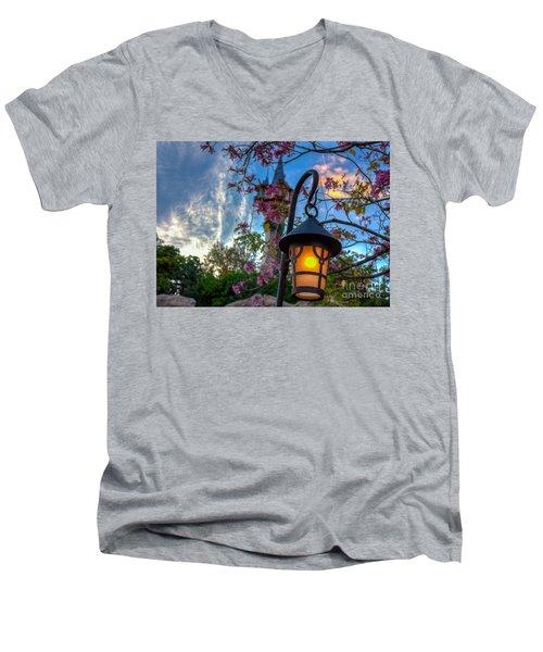 Rapunzel Let Down You Hair Men's V-Neck T-Shirt