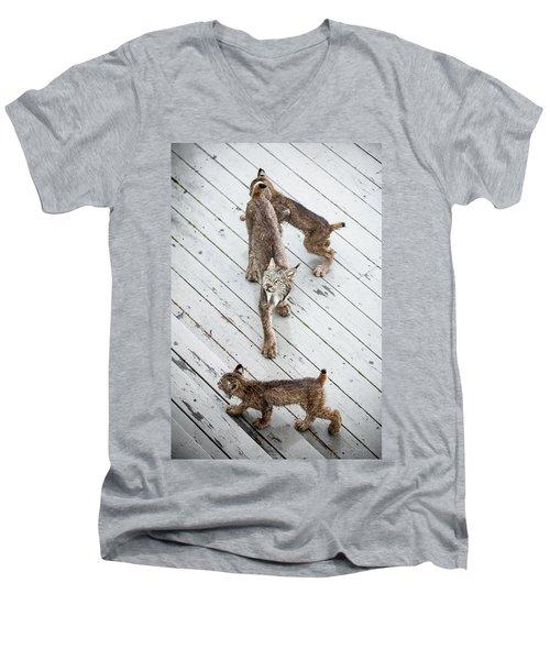 Always Scanning Men's V-Neck T-Shirt