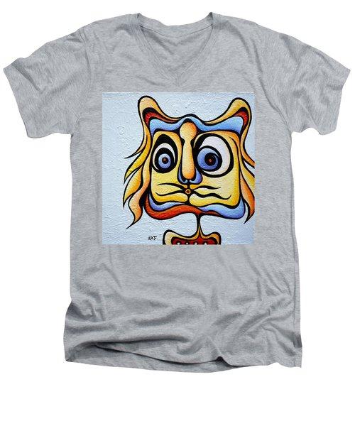 Raspberry Ralph Men's V-Neck T-Shirt