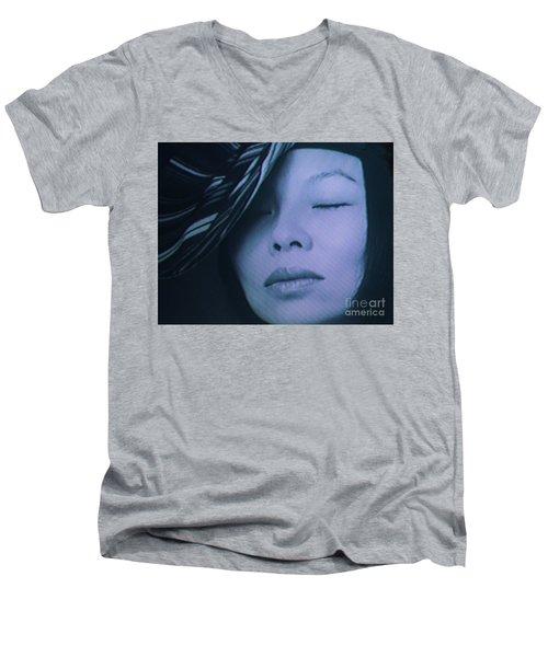 Screen #38 Men's V-Neck T-Shirt
