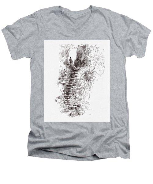 Rat Road Men's V-Neck T-Shirt