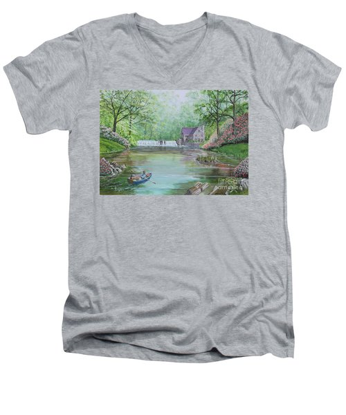 Ratty And Mole's Grand Day Out Men's V-Neck T-Shirt