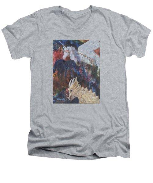 Rayden's Magic Men's V-Neck T-Shirt