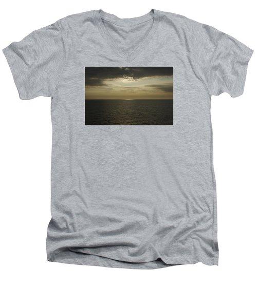 Rays Of Beauty Men's V-Neck T-Shirt by Greg Graham