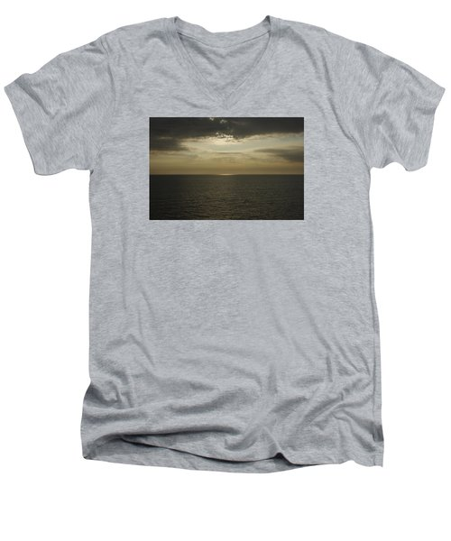 Rays Of Beauty Men's V-Neck T-Shirt