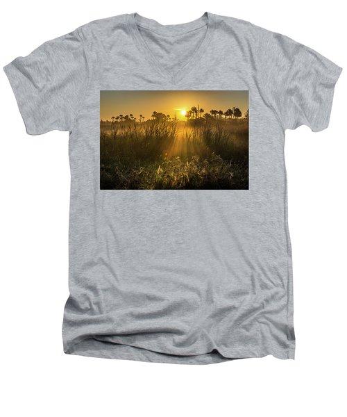Rays Of Light Men's V-Neck T-Shirt
