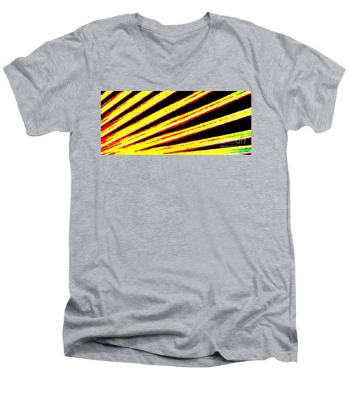Rays Of Light Men's V-Neck T-Shirt by Tim Townsend