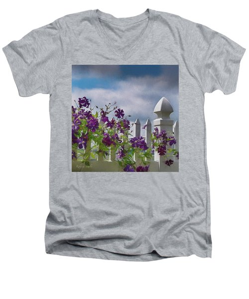 Reaching For The Sky Men's V-Neck T-Shirt