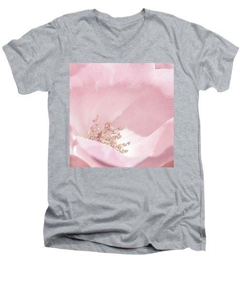 Reaching For The Sun Men's V-Neck T-Shirt