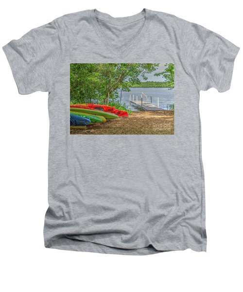 Ready For Summer Men's V-Neck T-Shirt