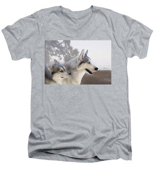 Ready Forthe Chase Men's V-Neck T-Shirt