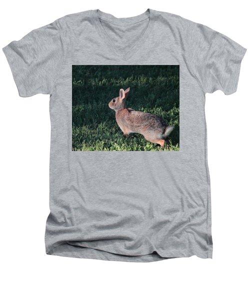 Ready To Run Men's V-Neck T-Shirt