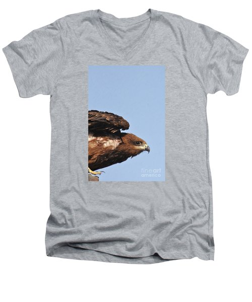 Ready To Take Off Men's V-Neck T-Shirt