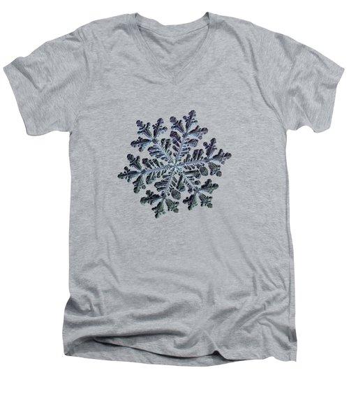 Real Snowflake - Hyperion Dark Men's V-Neck T-Shirt