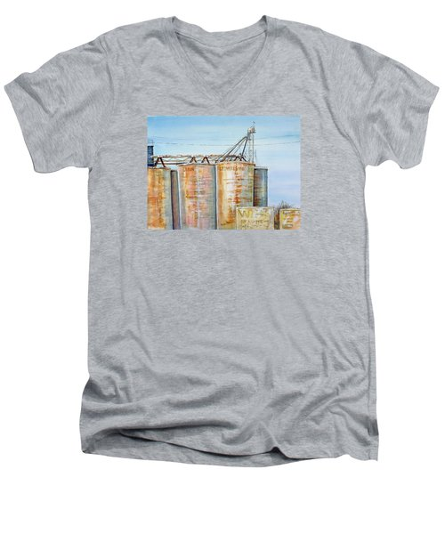 Rearden Grainery Men's V-Neck T-Shirt