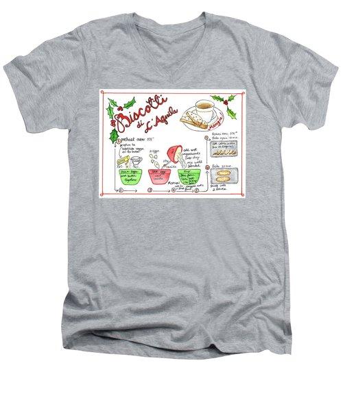 Recipe Biscotti Men's V-Neck T-Shirt
